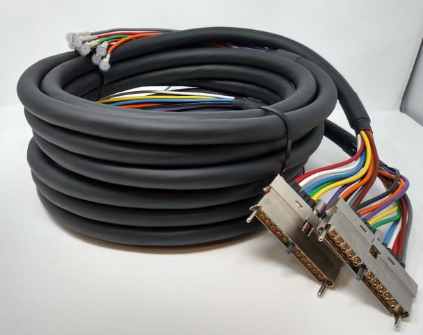 Cisco CAB-RFSW3G60QTIMF Cable Bundle for uBR-MC3GX60V 2x UCH2 20F Connectors 3M