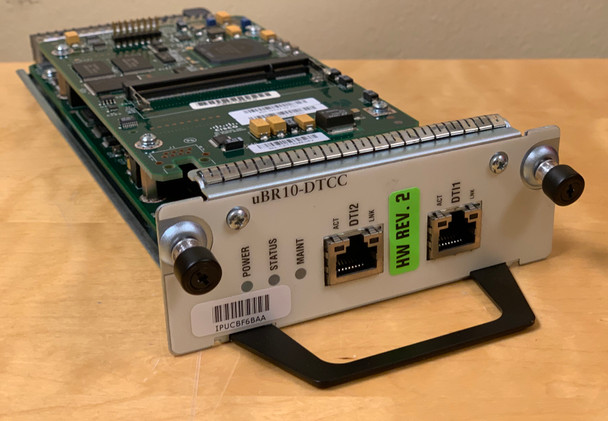 Cisco UBR10-DTCC (DOCSIS TIMING CONTROL CARD) for uBR10K uBR-10012 CMTS REV 2