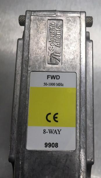 Scientific Atlanta 9908-FF 8 Way RF Splitter Part Number SA-591816 9908FF CATV