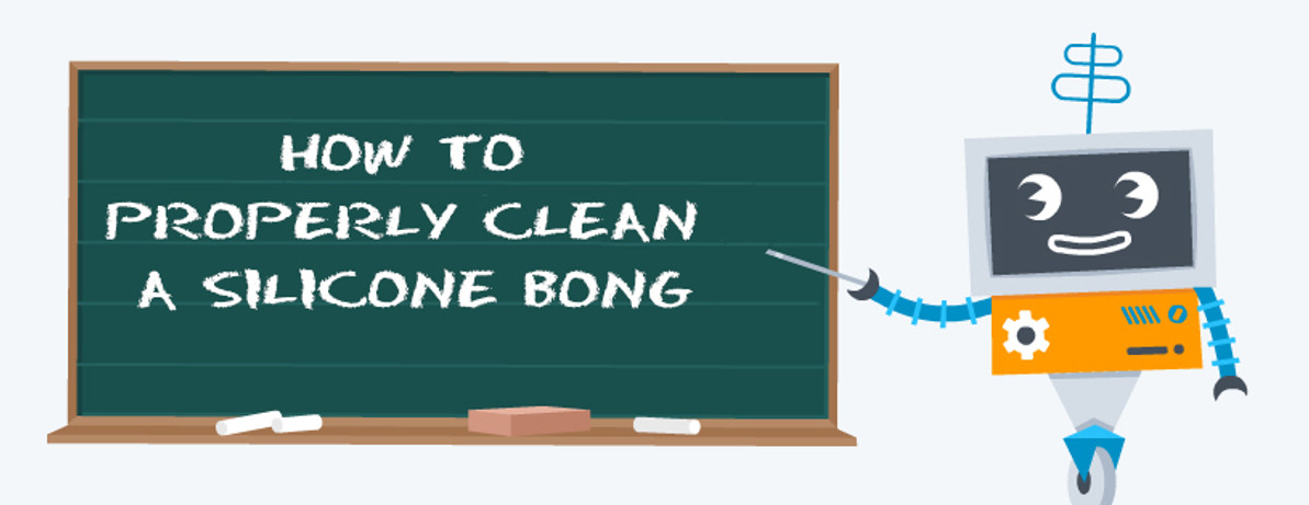 How to Properly Clean a Silicone Bong