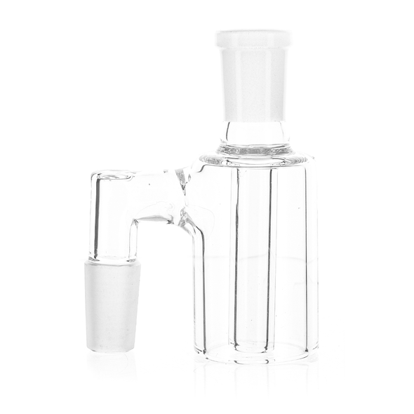 14mm Male 90 degree Reclaim Catcher Banger with Silicone Jar Set