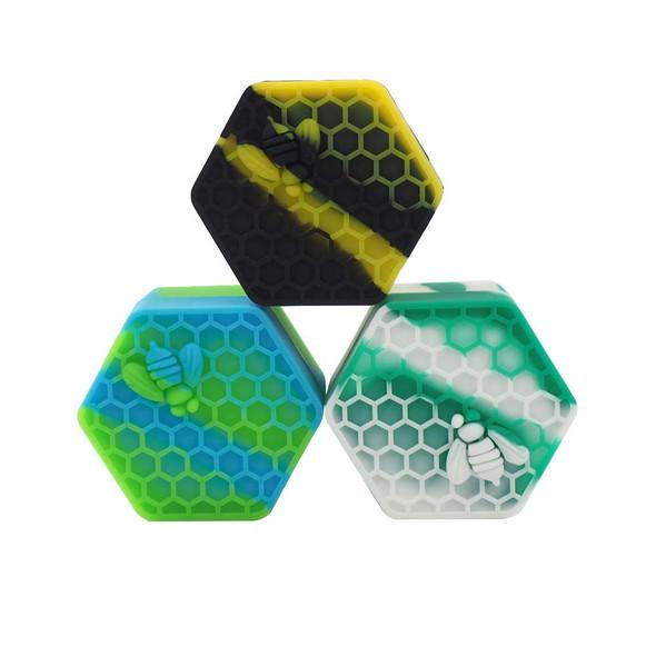 HoneyBee Hexagon Silicone Container 26ml