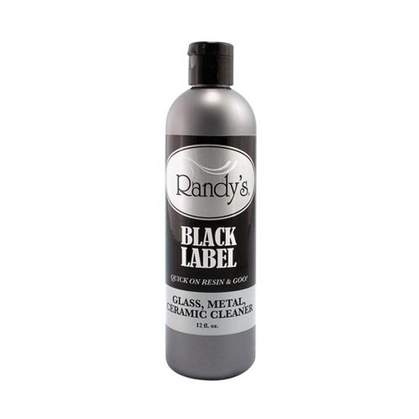 Randy's Black Label Smokeware Cleaner: Glass, Metal, Ceramic Cleaner 12 FL OZ