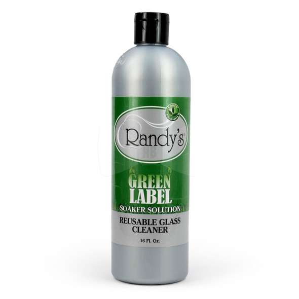 Randy's Green Label Soaker Solution Cleaner: Glass, Metal, Ceramic, Silicone, Wood, Acrylic Cleaner