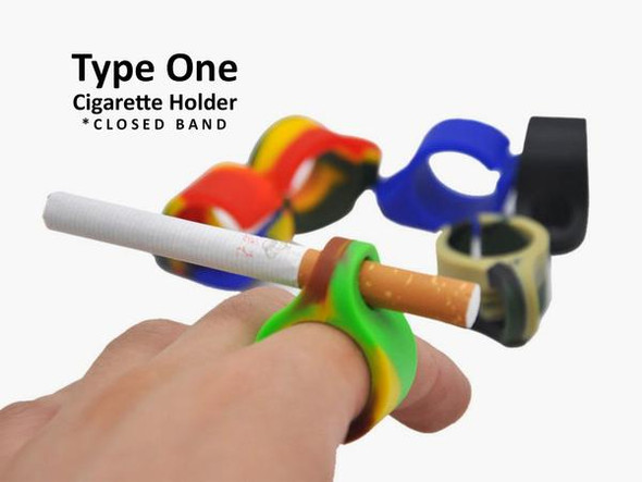 SILICONE Cigarette Pre-Roll Holder Ring