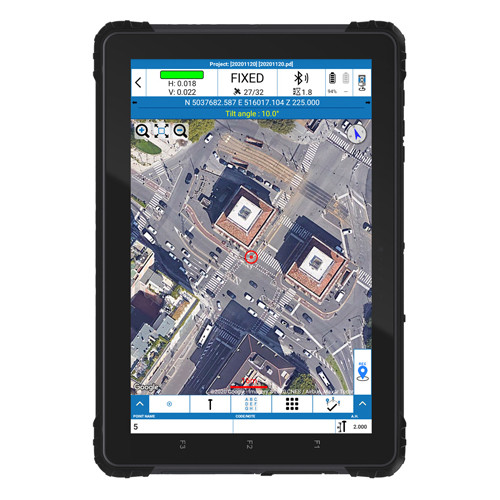 "STONEX UT56 10.1"" Android Rugged Tablet"