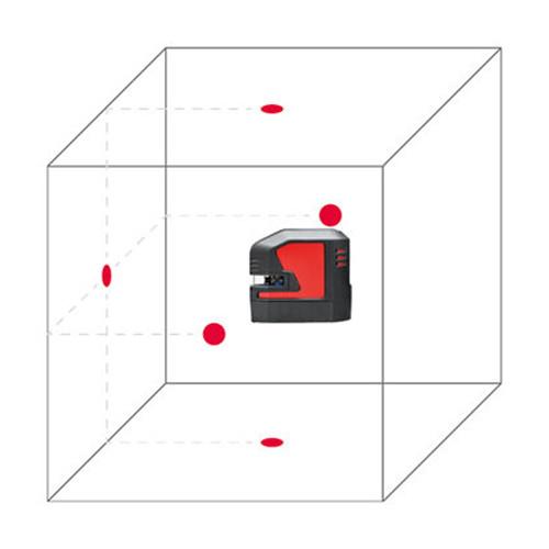 LEICA  LINO L2-1 self-levelling cross-line laser, red beam