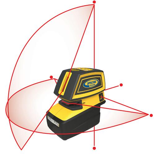 SPECTRA LT52R Point & Crossline Laser (LT52R)