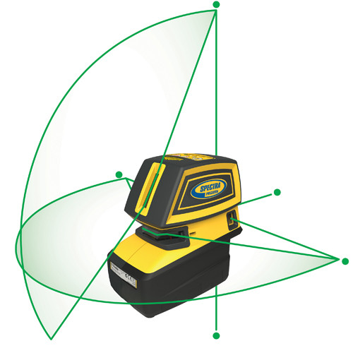 Spectra LT52G Point & Crossline Green Laser (LT52G)