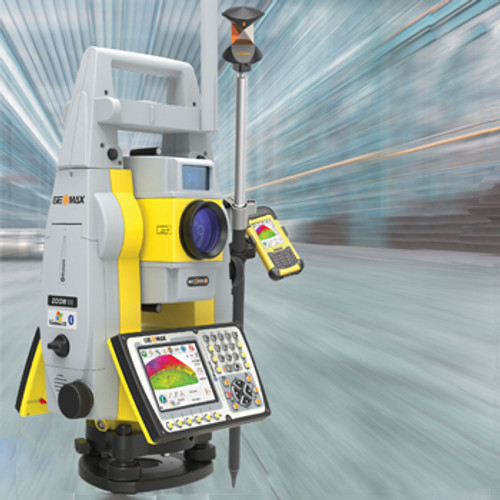 Geomax Zoom90 Robotic Systems w/Long Range Bluetooth Handle