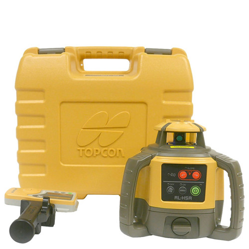 Topcon RL-H5A Self Leveling Horizontal Laser Level 1021200-07 (1021200-07-NC)