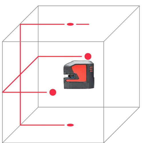 Leica L2P5 Point and Line Laser Level (864431)