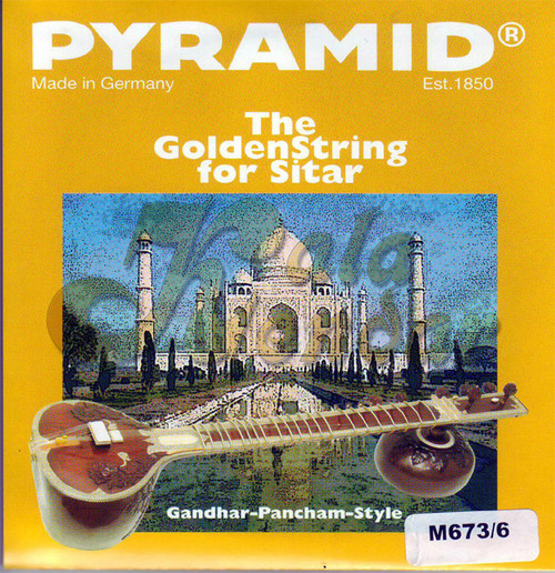 Sitar Strings Pyramid Golden GP