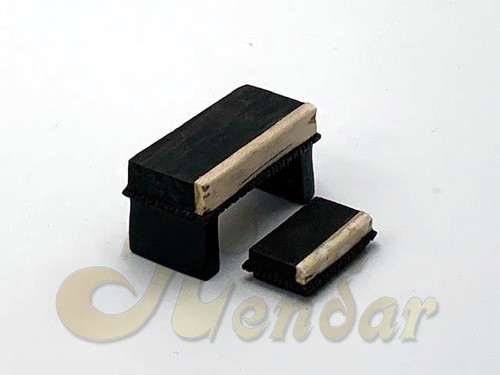 Sitar Bridge Set (Ebony)