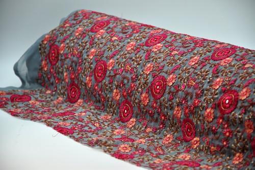 Embroidered Chiffon/Georgette Design 10