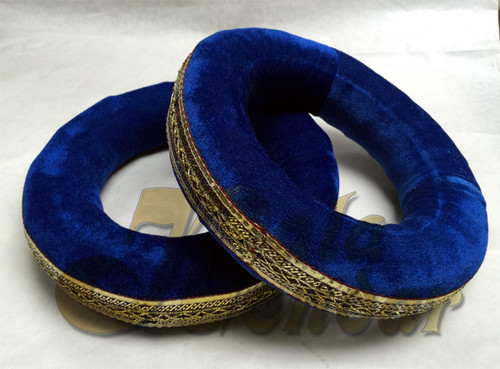 Tabla Rings in Blue