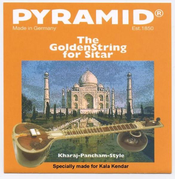 Sitar Strings Pyramid GOLDEN KP