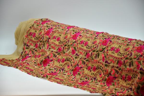 Embroidered Chiffon/Georgette Design 09