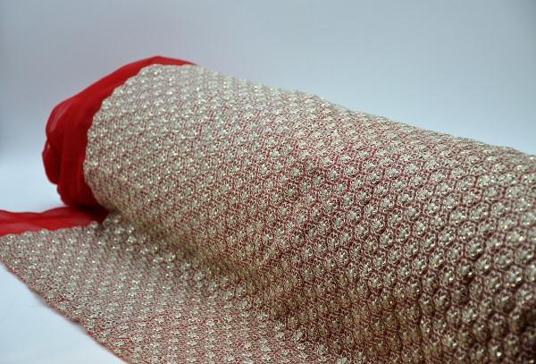 Embroidered Chiffon/Georgette Design 12