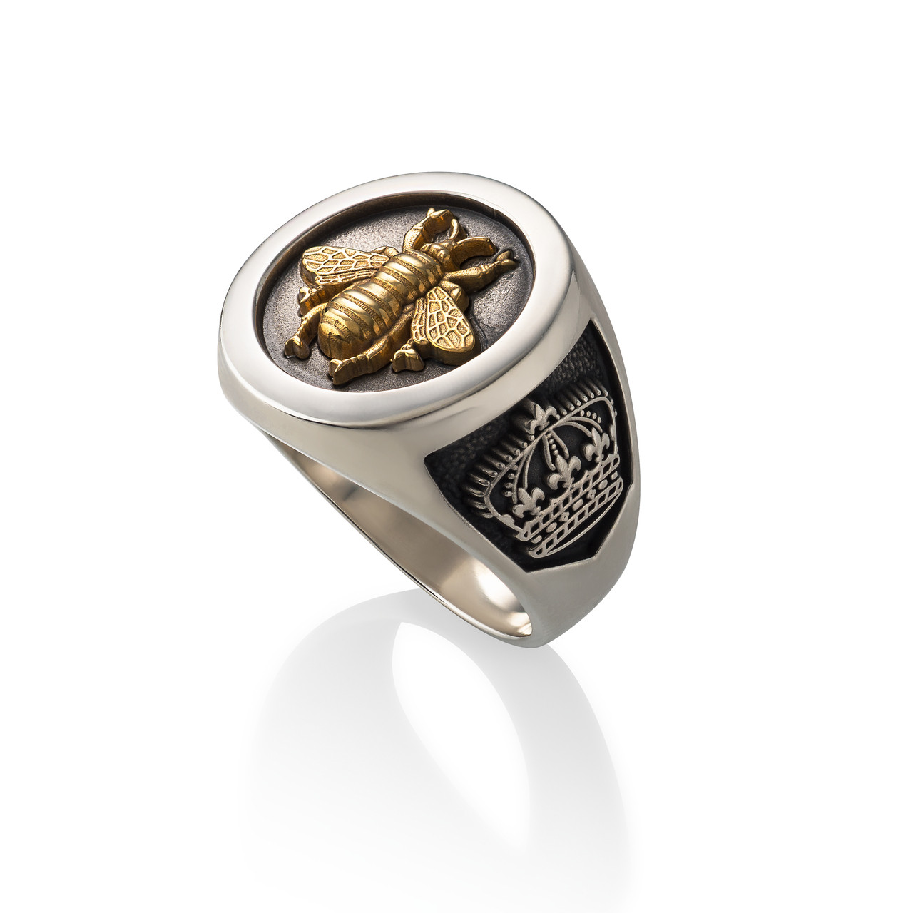 Bee Ring Sterling Silver Amp Gold Vermeil Www