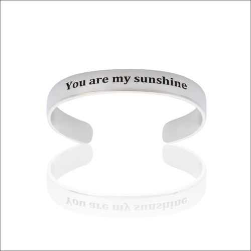 """You are my Sunshine"" Cuff"