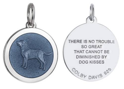 Colby Davis Pendant: Men's Medium Dog (chain sold separately)