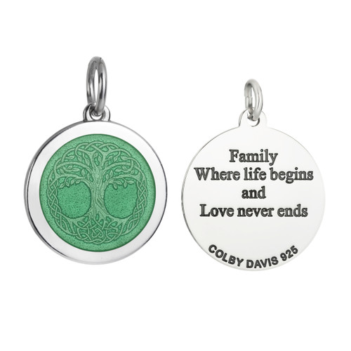 Colby Davis Pendant: Men's Medium Tree of Life (chain sold separately)