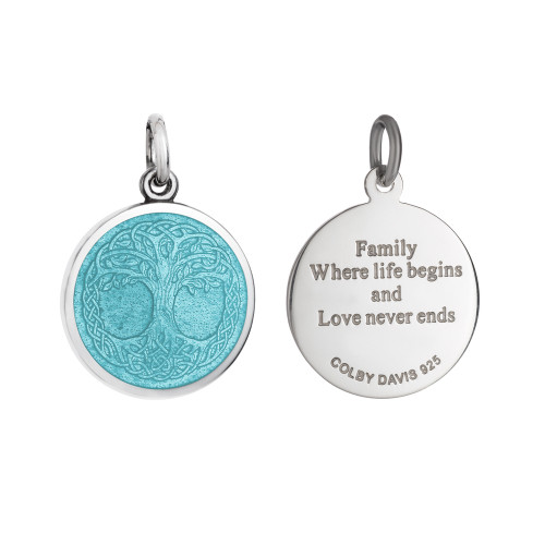 Colby Davis Pendant: Small Tree of Life Knot (chain sold separately)