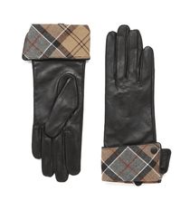 Lady Jane Leather Gloves - Black with Dress