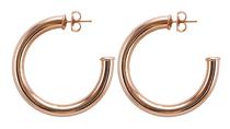 Chantal Hoop Earring - Rose Gold Plated