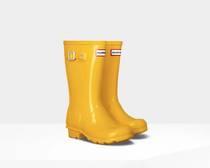 Original Kids Gloss Boots- Yellow Gloss