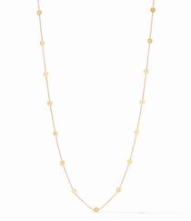 Poppy Station Necklace - Cubic Zirconia