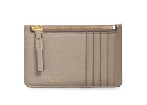 Perry Top-Zip Card Case - Gray Heron -Please call to 540-368-2111 to purchase!