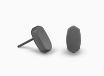 Barrett Earring - Gunmetal
