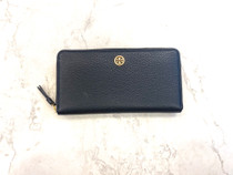 Walker Zip Continental Wallet - Black - Please call 540-368-2111 to purchase!