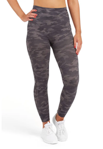Look At Me now Seamless Legging - Heather Camo