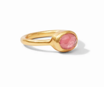 Jewel Stack Ring - Gold Iridescent Rouge