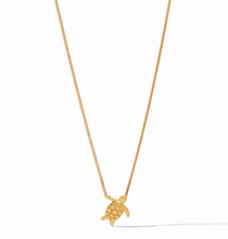 Turtle Delicate Necklace - Gold