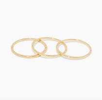 G Ring Set- Gold