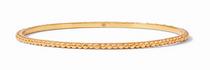 Colette Bead Bangle - Gold