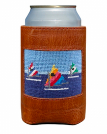 Needlepoint Can Cooler - Day Sailor