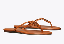 Miller Knotted Sandal- Aged Camello