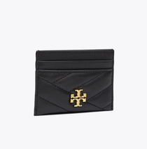 Kira Chevron Card Pocket - Black