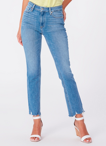 Cindy with Raw Stringy Hem - Music Distressed