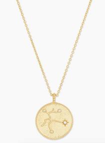 Astrology Coin Necklace (Sagittarius)