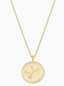 Astrology Coin Necklace (Virgo)