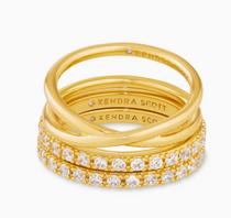Livy Ring Set- Gold- 7