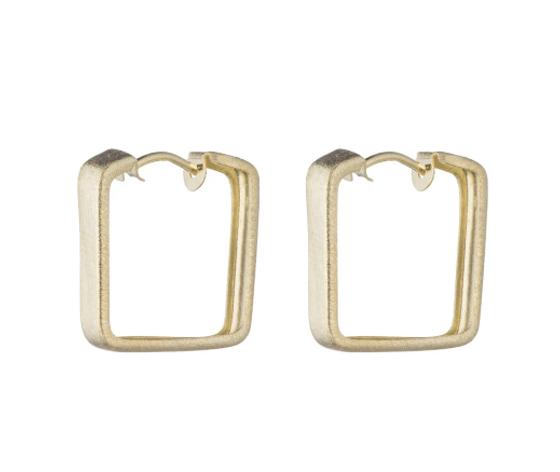 Lina Hoop Earrings- Gold