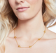 Bee Delicate Necklace - Gold