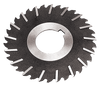 """Side Chip Clearance 5""""x3/16x1 hole,  HS Metal Slitting Saws"""
